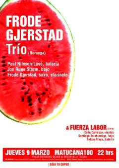 FRODE GJERSTAD trio 9-03-2017 M100